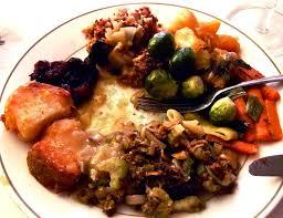 vegetarian thanksgiving feast ideas neon