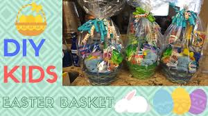 diy easter baskets for kids youtube