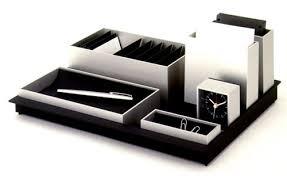 Desk Accessories Sets Neoteric Design Office Desk Sets Beautiful Ideas Office Desk