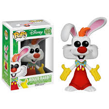 rabbit merchandise who framed roger rabbit pop vinyl figure merchandise zavvi