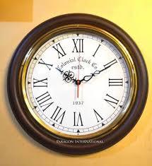 vintage wooden wall vintage wooden wall clocks at rs 1499 vintage wall clocks