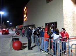 target thursday black friday earlier than ever black friday sales draw big crowds