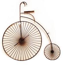 splendid metal bicycle wall handcrafted mountain bike ornament