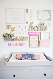 Grey And Pink Nursery Decor by 144 Best Pink And Gold Nursery Images On Pinterest Gold Nursery