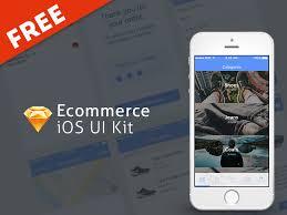 free ui kit free ecommerce ui kit in sketch