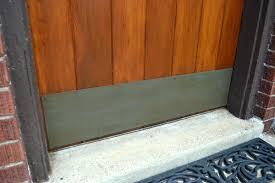 Exterior Door Kick Plate How To Faux Paint A Brass Patina Lansdowne