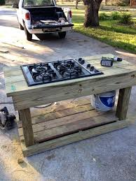 outdoor cooking prep table outdoor cooking table cooking in the garden outdoor food prep table