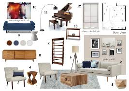 Mid Century Modern Living Room Furniture by Before U0026 After Mid Century Modern Living Room Design Online
