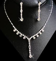 prom jewelry silver or gold wedding rhinestone jewelry prom jewelry
