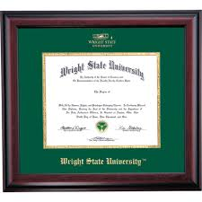 ohio state diploma frame wright state school color traditional diploma frame wright state