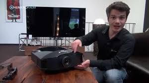 Beamer Im Wohnzimmer Sony Vpl Hw40 Es Vorstellung Der Neue Full Hd 3d Beamer Im Test