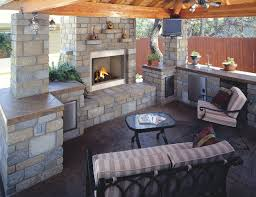 exterior rustic outdoor kitchen plan chic decor adorable patio