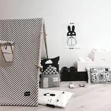 tipi chambre chambre enfant en noir et blanc 25 idées à copier