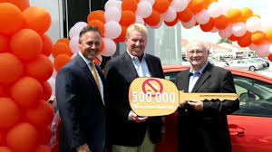 toyota th toyota of orange sells david wilson automotive group u0027s 500 000th