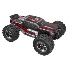 monster truck rc nitro redcat racing earthquake 3 5 1 8 nitro monster truck red