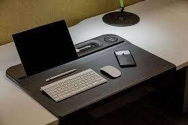bureau mat aircharge wireless charging desk mat wave office ltd