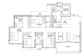 Sqm To Sqft by The Terrace Ec U2013 Floor Plan U2013 4 Bedroom Premium U2013 D U2013 134 Sqm 1442
