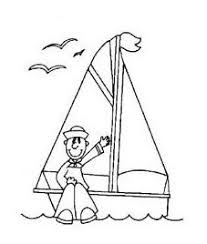 happy ship coloring pages kindergarten preschool water