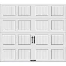 Overhead Door Parts List by Clopay Value Plus Series 9 Ft X 7 Ft 6 3 R Value Insulated White