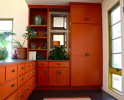 Orange Kitchen Cabinets Sumptuous Design Inspiration  HBE Kitchen - Orange kitchen cabinets