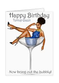 martini birthday card greeting cards paper penie