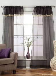 golden rod pocket w attached beaded valance sheer tissue curtains
