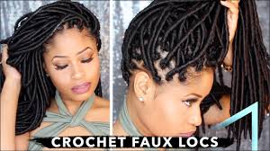 how to crochet faux locs no cornrows no wrapping free