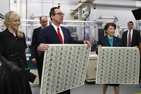 Even Bill Would Check Out - treasury bosses steve mnuchin and jovita carranza check out new 1