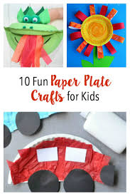 top 10 fun paper plate crafts for kids pinned and repinned