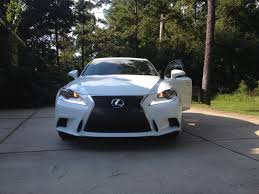 lexus is 200t vs is250 my baby has arrived is250 f sport ultra white roja red