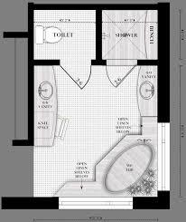 bathroom floor plans stunning ideas 6 master bathroom plan floor plans homepeek