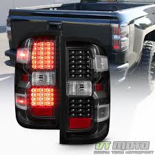 chevy silverado led tail lights black 2014 2017 chevy silverado 1500 2500 hd 3500 hd led tail lights