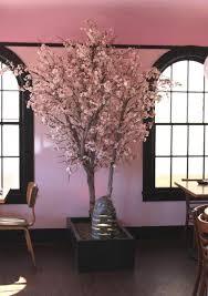 silk cherry blossom tree be leaves