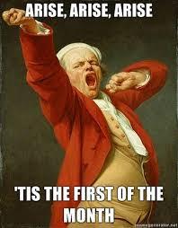 First Of The Month Meme - image 90891 joseph ducreux archaic rap know your meme