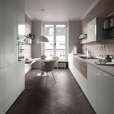 cuisine couloir forma mentis de valcucine cuisine couloir couloir et en bois