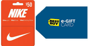 best place to get gift cards free 10 best buy egift card with 50 nike gift card purchase
