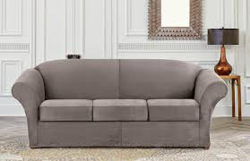 Grey Slipcover Sofa by Sure Fit Slipcovers September 2014