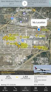 Atlanta Bypass Map by Review Of Delta Air Lines Flight From Atlanta To Los Angeles In