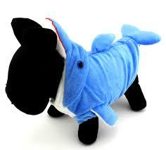 halloween fleece pet small dog cat clothes apparel warm fleece dolphin costume