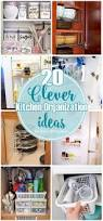 Unique Kitchen Storage Ideas by 341 Best Get Organized Kitchen Images On Pinterest Kitchen