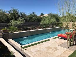 desert reflection companies custom pools spa masonry