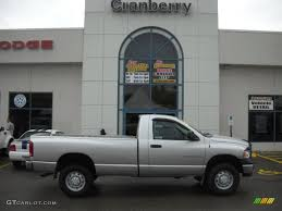 2004 bright silver metallic dodge ram 2500 st regular cab 4x4
