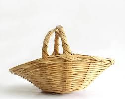 vintage easter baskets vintage easter basket etsy