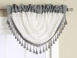 Silver Valance Veronica Sable Window Valance With Rod Pockets U2013 Editex Home Textiles