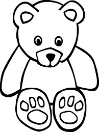 Small Bear Coloring Page Wecoloringpage Small Coloring Pages