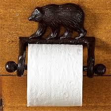 Bear Bathroom Accessories by Moose R Us Com Cast Iron Lodge Theme Bear Bathroom Accessories
