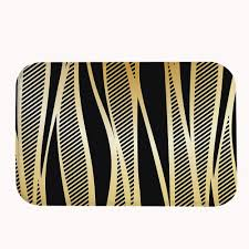 Black And Gold Bathroom Black And Gold Bathroom Rugs Rugs Decoration