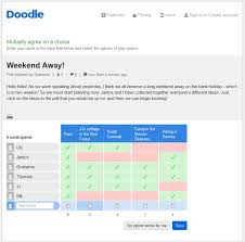 doodle poll tool free survey from doodle doodle