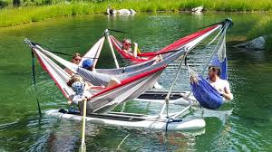 maximize a lazy summer afternoon with this absurd raft full of
