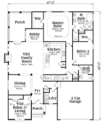 Craftsman Style House Floor Plans Craftsman Style House Plan 3 Beds 2 00 Baths 2084 Sq Ft Plan